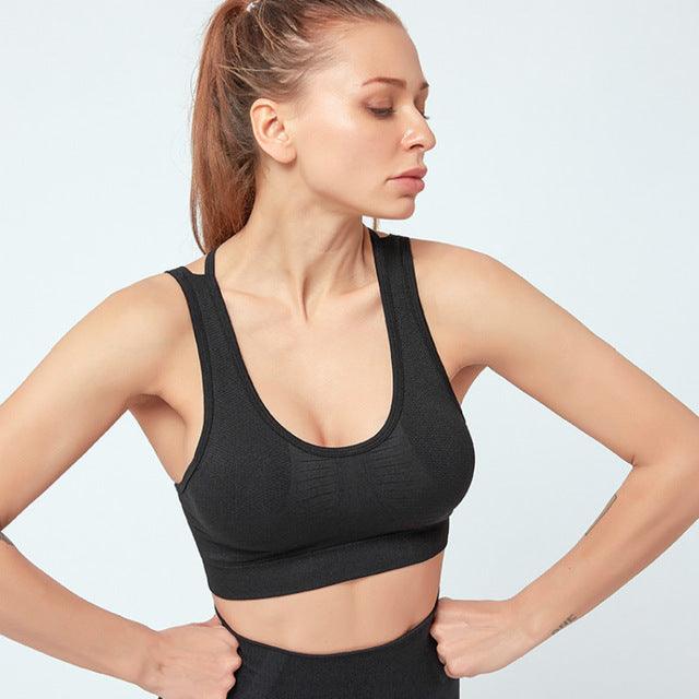 V2 Hollow Crop Bra
