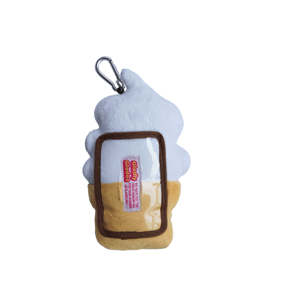 Pass Card Case / Soft Serve Ice Cream Vanilla White