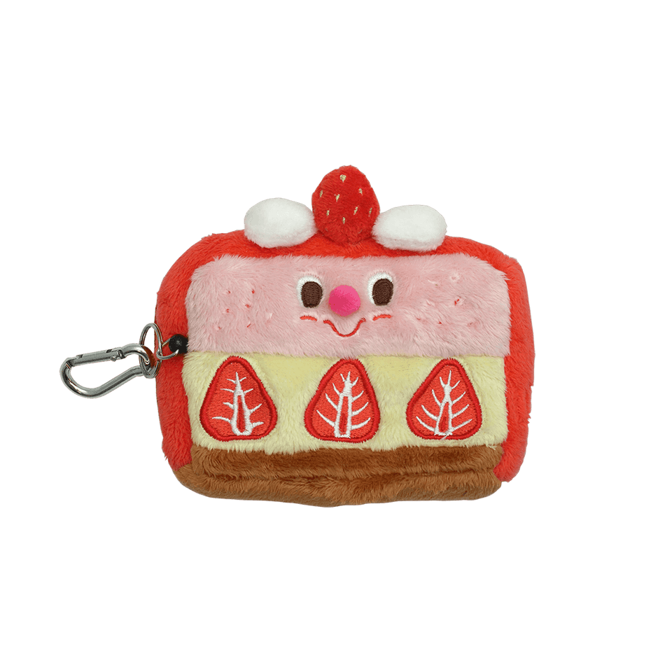 Pass Card Case / Strawberry Shortcake (with zipper)