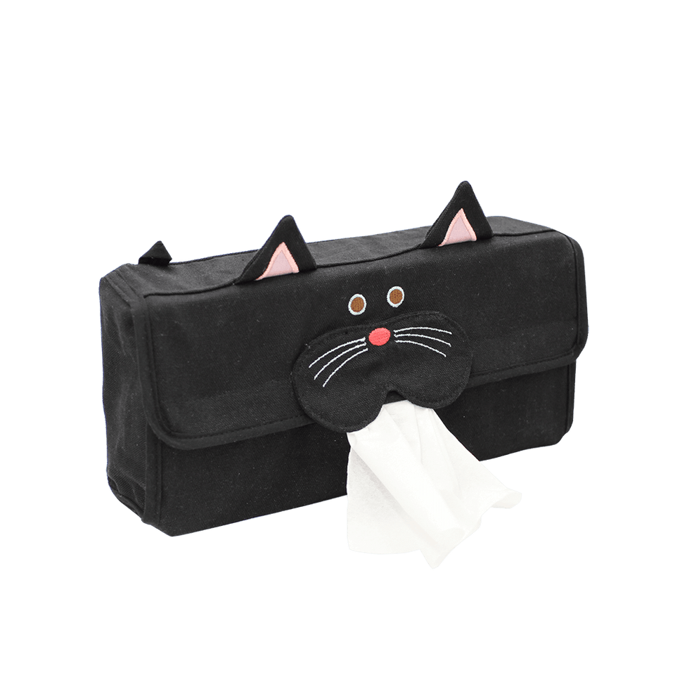 Tissue Box Cover / Cat