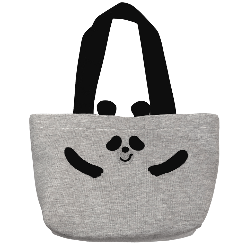 Mini Tote Bag / Smooth Panda