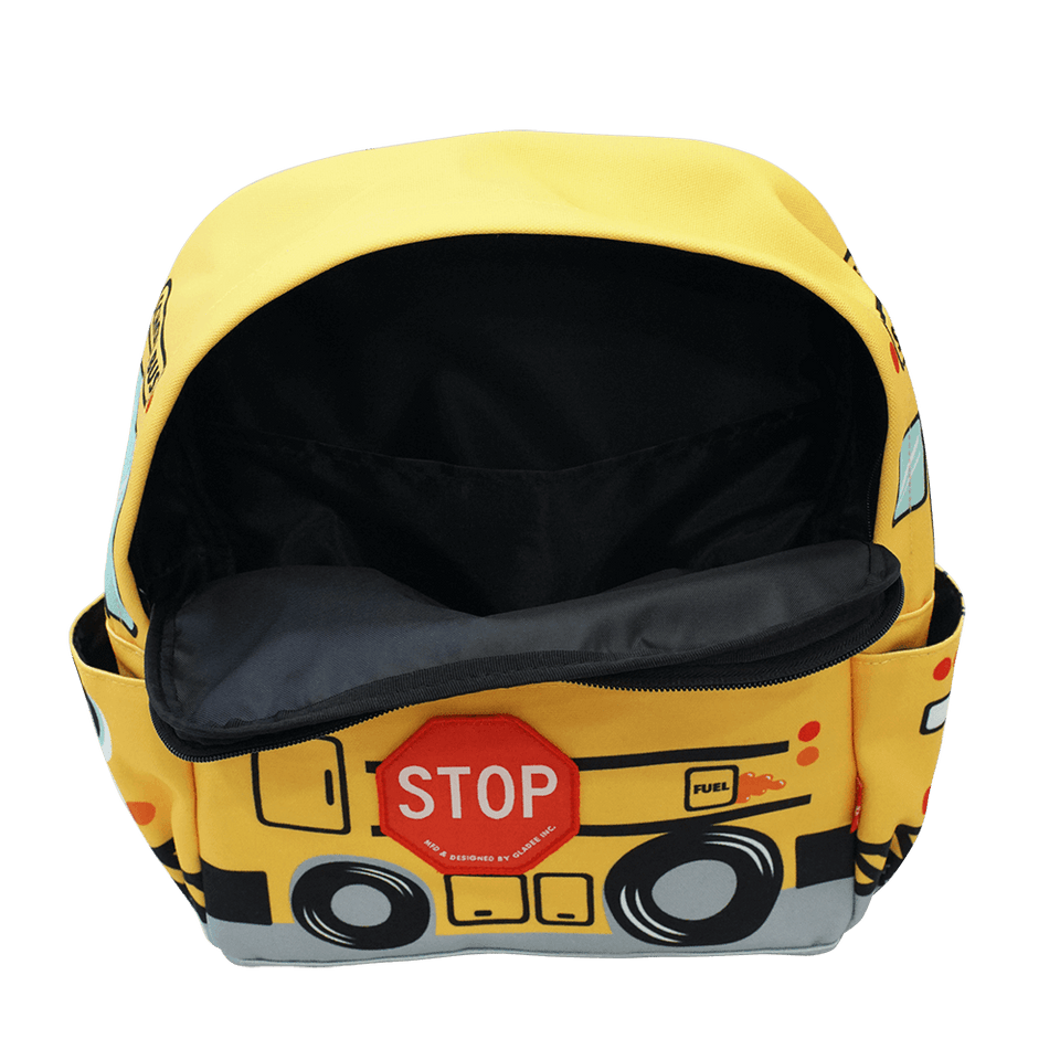 Canvas Small Backpack / School Bus (Polyester)