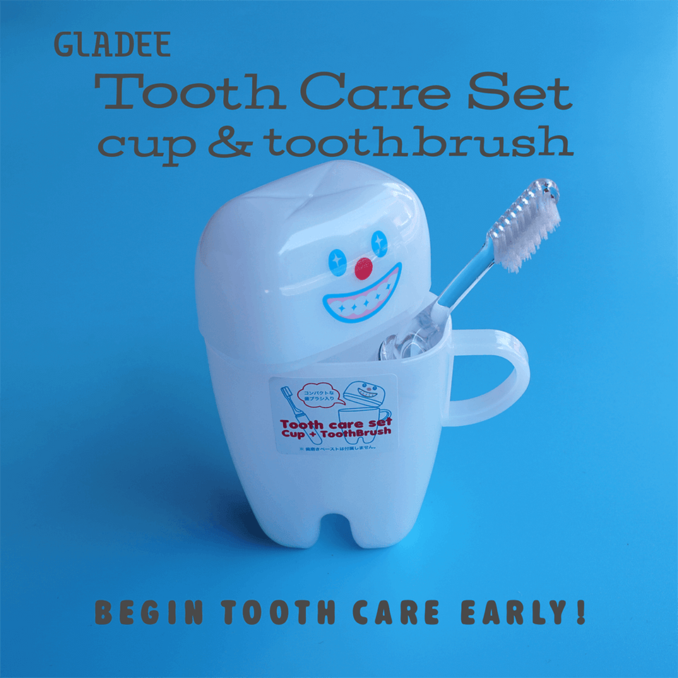 Toothbrush & Cup Travel Set / Good
