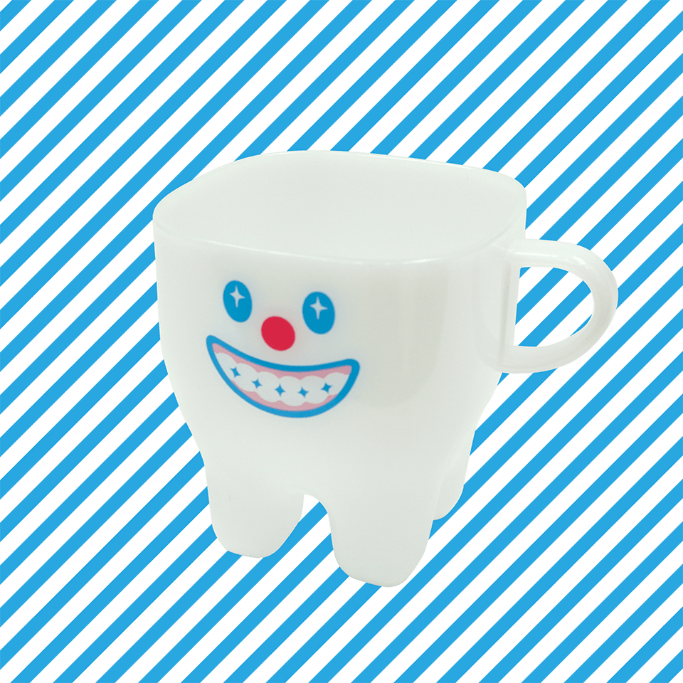 Tooth Plastic Cup / Good