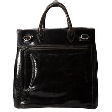 Luxury leather sustainable silk handbag carryall carry-on luggage