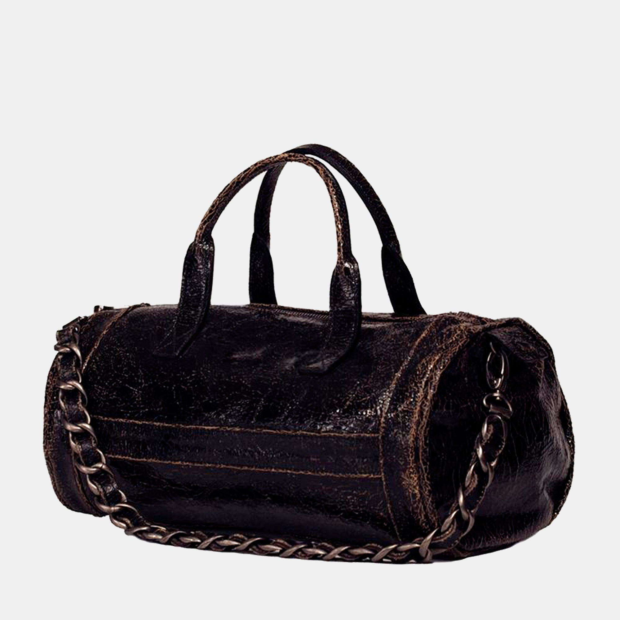 Mini Cigar Handbag - Black