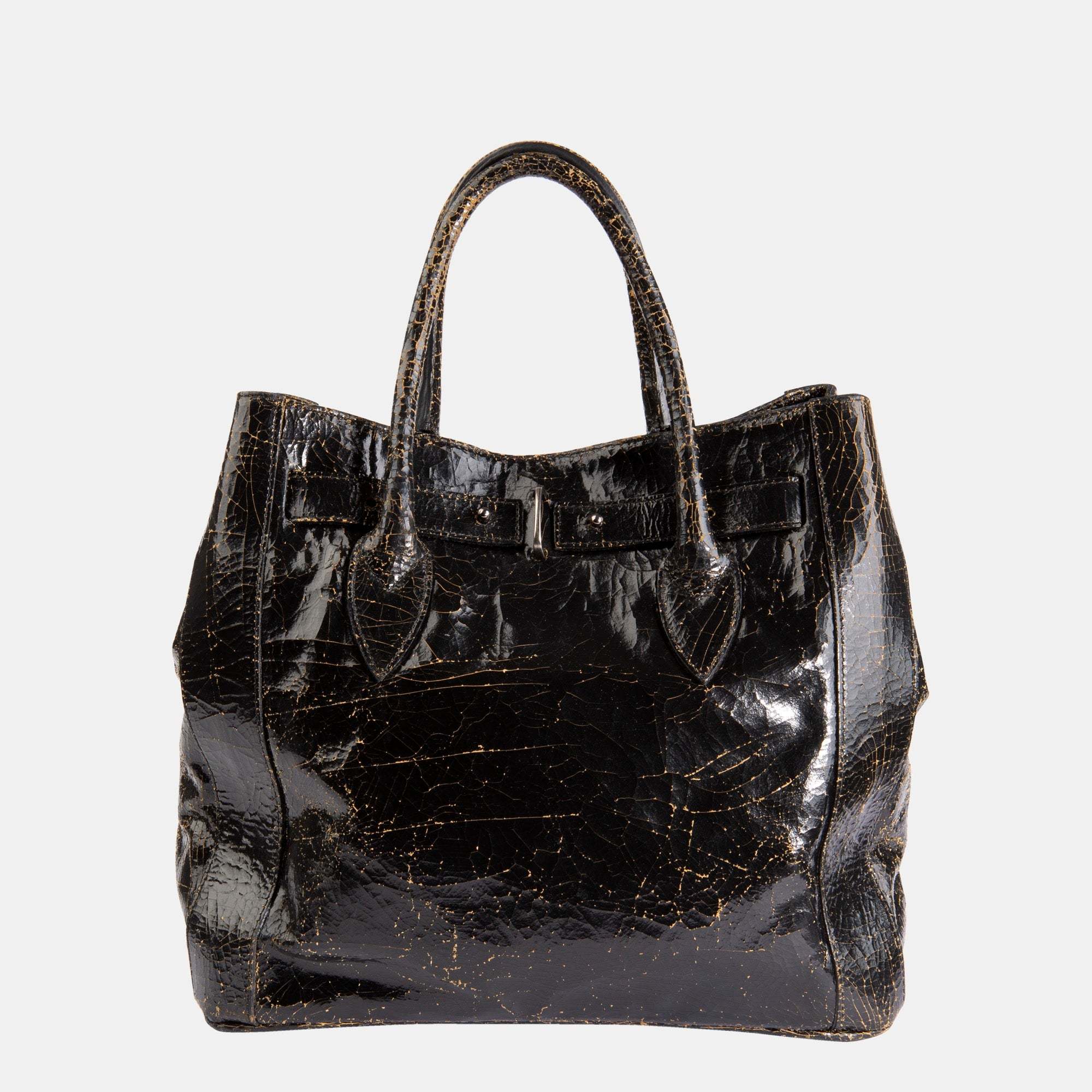 Luxury leather sustainable silk crossbody handbag tote