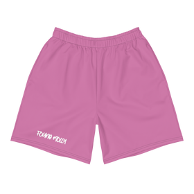 Scribble Logo Shorts Pink