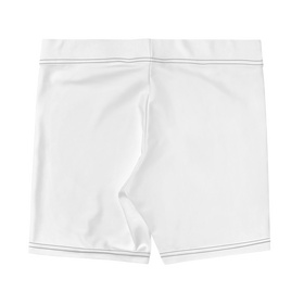 Contrast Logo Bike Shorts