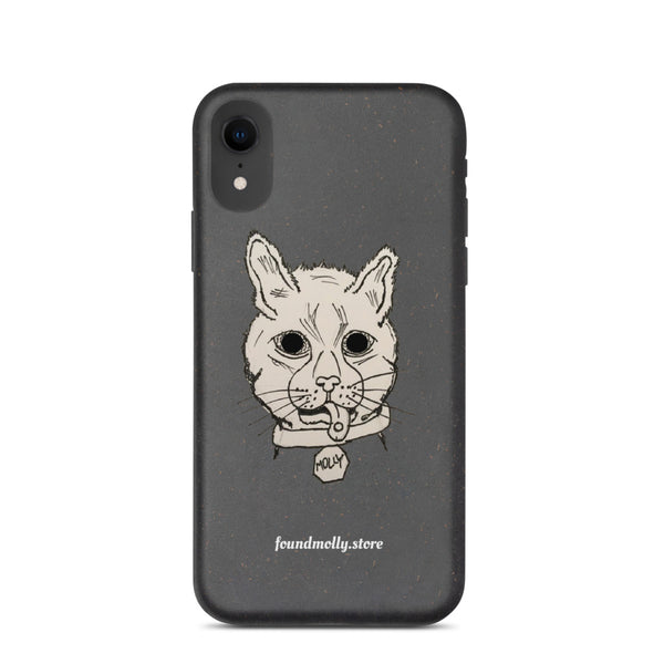 Biodegradable iPhone case CATTER
