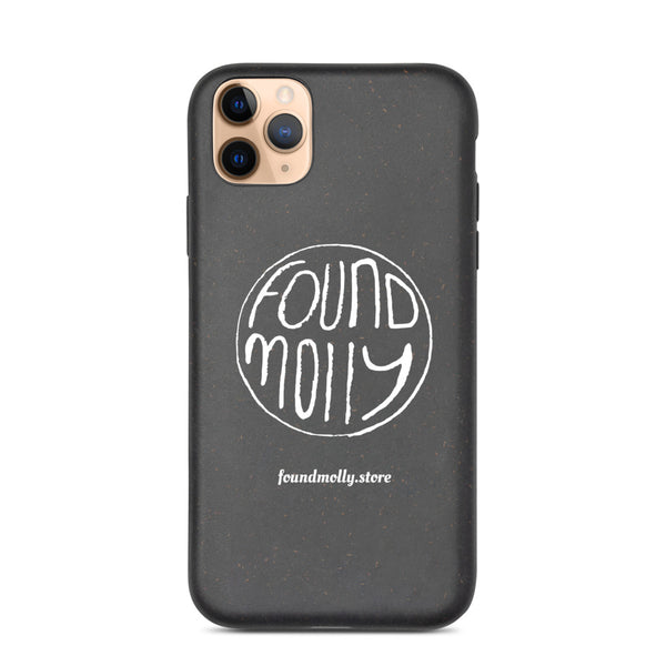 Biodegradable iPhone case ROUND