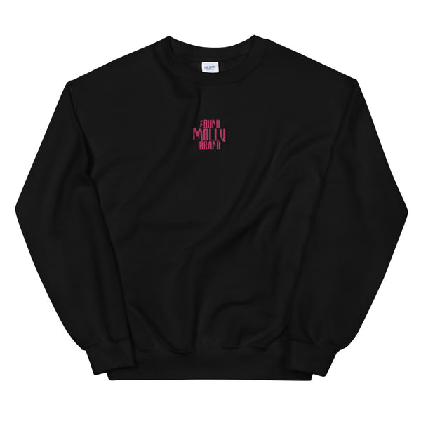 Distort Embroided Crewneck