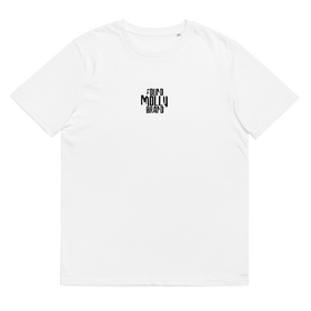 Distort Logo Tee White