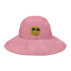 Smilez Wide brim bucket hat