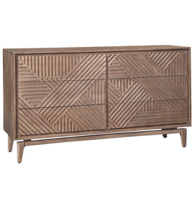 The Martina 6 Drawer Dresser