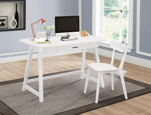 White desk + Chair set