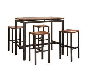 Hunter Counter Height Table + 4 Chairs