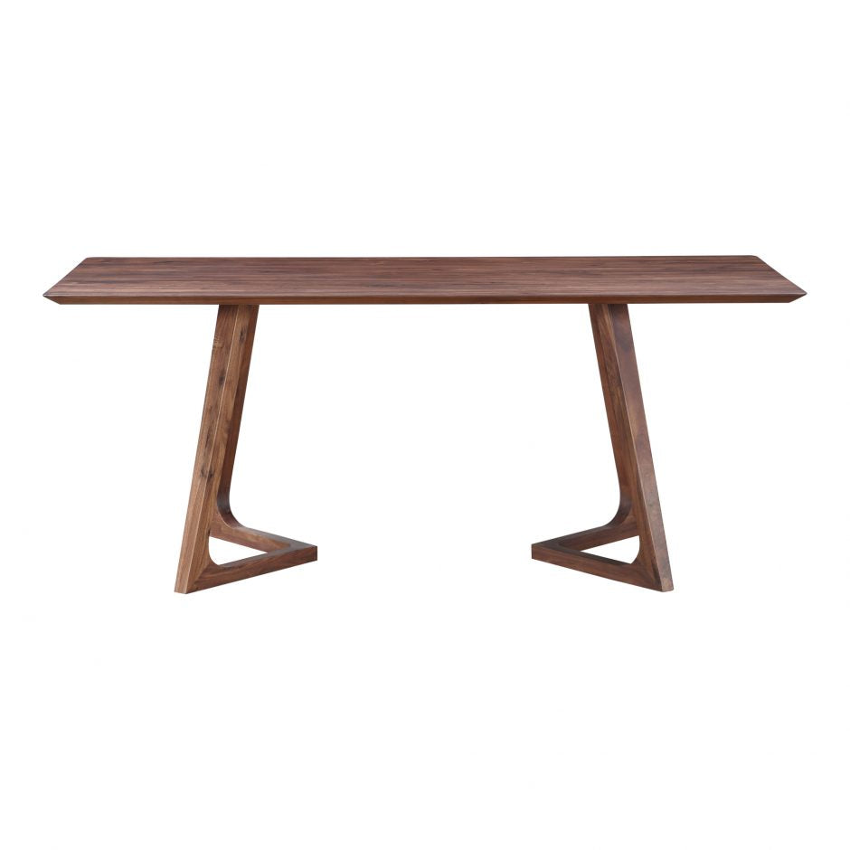 Saban Dining Table, Natural Walnut