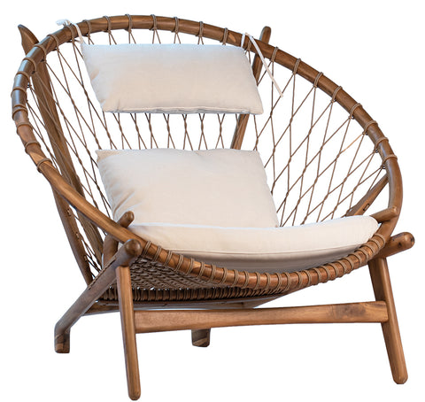 Hans Wegner Inspired Circle Chair