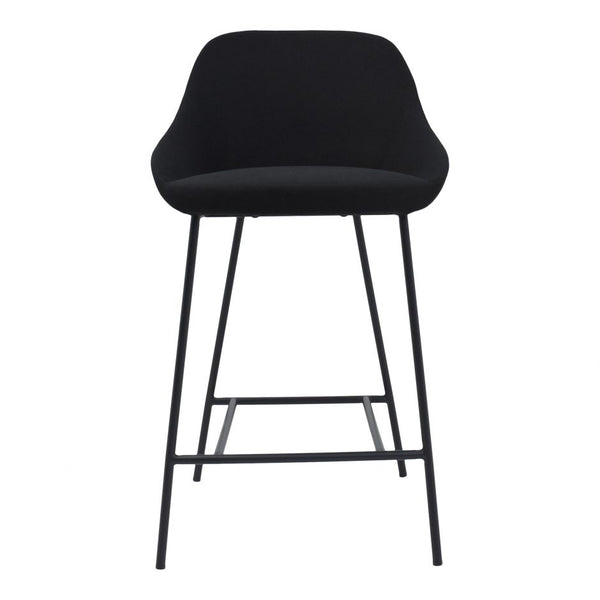 Shelby Counter Stool, Black