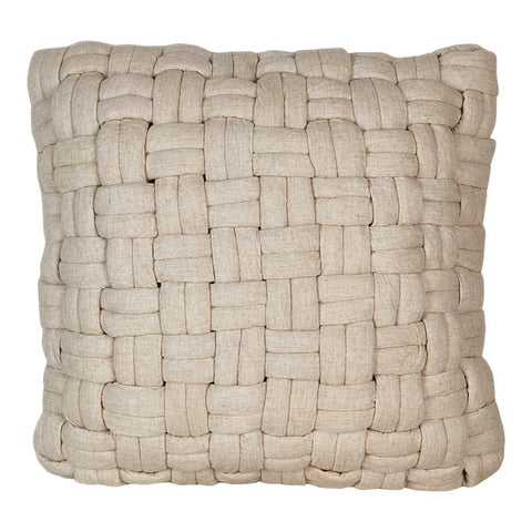 Bronya Wool Pillow Vanilla
