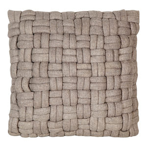 Bronya Wool Pillow, Cappuccino