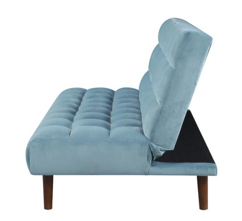 Grey Blue Sofa Bed