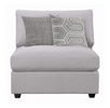 Cambria Grey Sectional Sofa - 4 Pieces