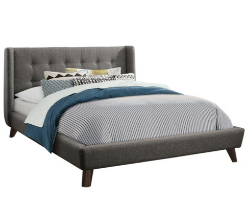 Carrington Grey Full Sized Bed