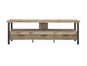 Weathered Pine TV Console
