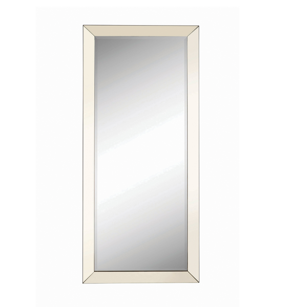 Silver Edge Wall Mirror