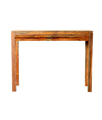 Warm Chestnut Entry Console