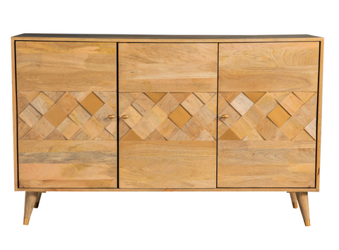 Diamond 3-Door Accent Cabinet