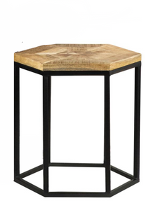 Hexagon Accent Table (set of 2)