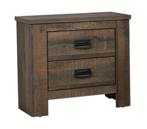 12 Month Rental Plan |  Weathered Oak Nightstand | From $20/mo