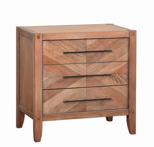 Hudson Nightstand, 3 Drawer