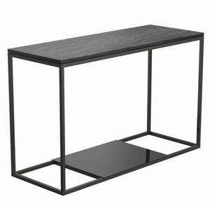 Sleek Black Modern Console