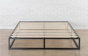 The Modern Minimalist Queen Bed