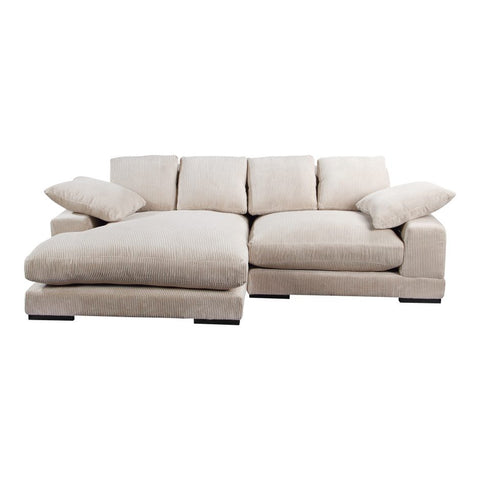 Plunge Sectional - Cream
