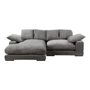 Plunge Sectional - Charcoal
