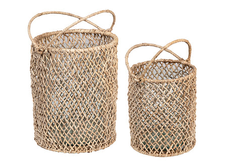 Abaca Baskets (set of 2)