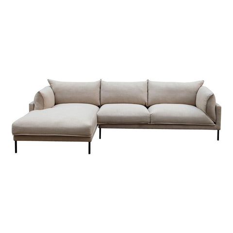 Jamara Sectional, Light Beige