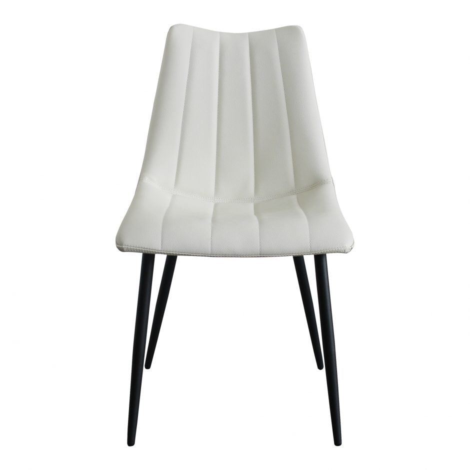 Alibi Dining Chair, Ivory (Set of 2)