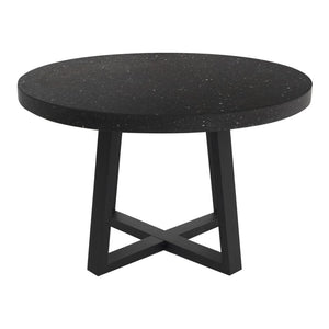 Black Terrazzo Dining Table