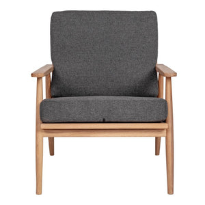 Harper Lounge Chair, Grey