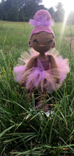 Load image into Gallery viewer, African American Ballerina Doll - Ballerina Doll