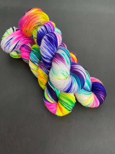 Preorder Psychedelic Unicorn Lagniappe Sock