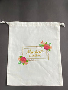 Mitchell's Creations Drawstring Bag