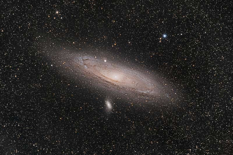 M31 Andromeda galaxy with Sharpstar 94EDPH F4.4 full frame reducer