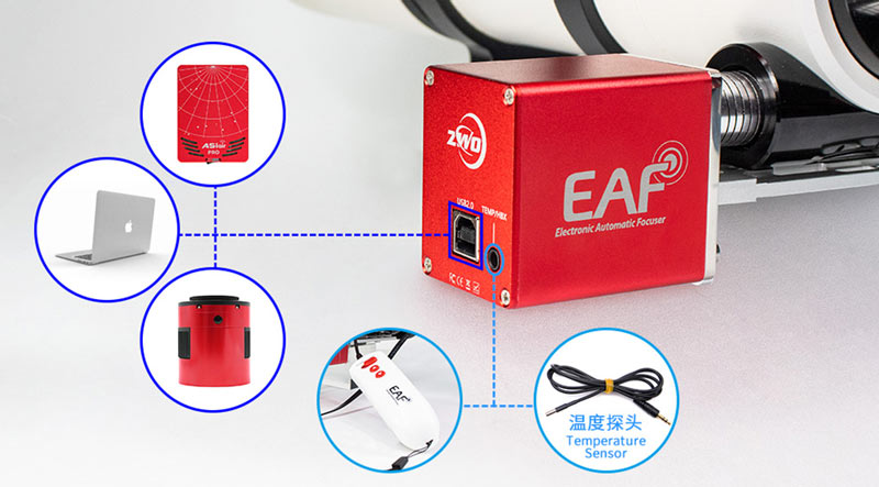 NEW ZWO EAF ELECTRONIC AUTOMATIC FOCUSER 5V